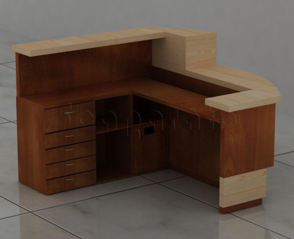 corporate reception counter