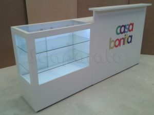 Cash wrap counters