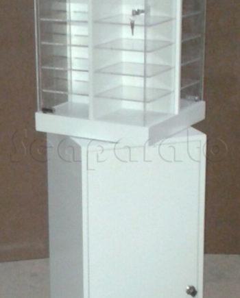 Calvin Klein frames acrylic display cases