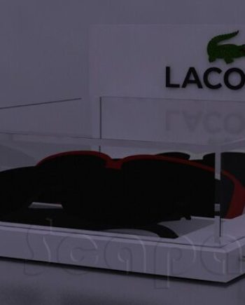 lacoste table display