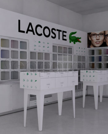 lacoste frames corner