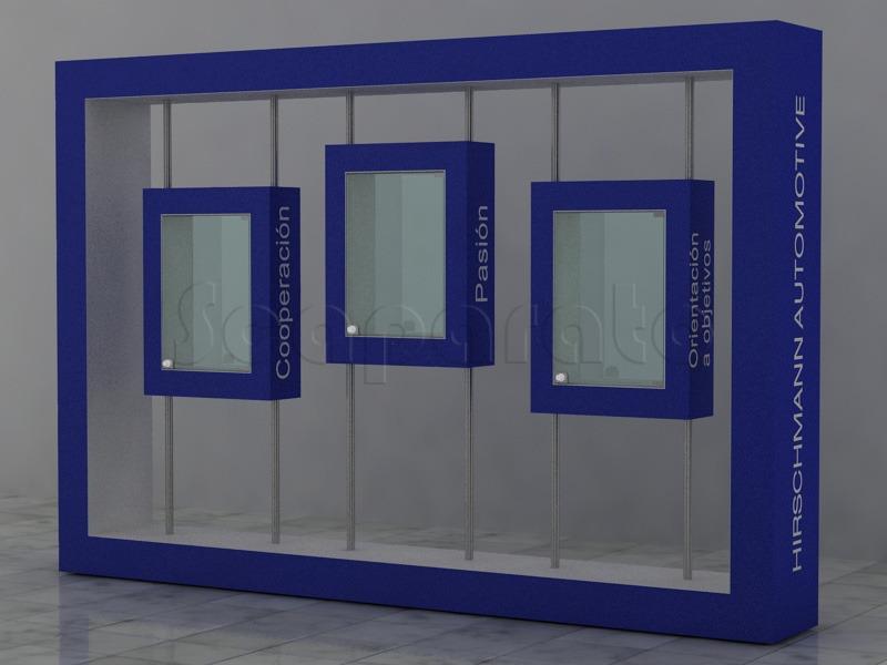 two sides display rack