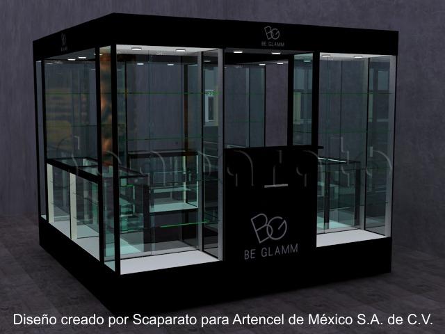 kiosco de vitrinas