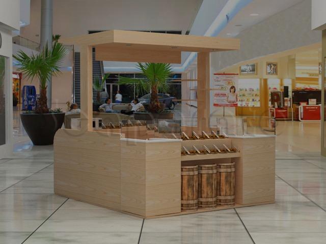 comercial food kiosk