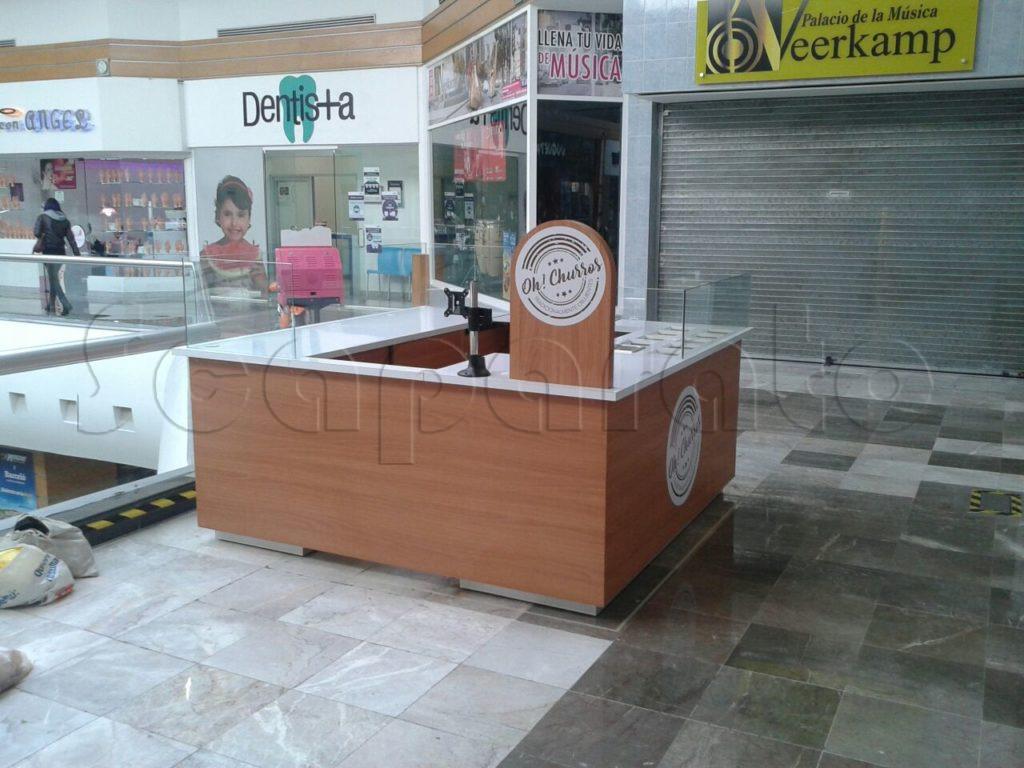 kiosko para venta de churros