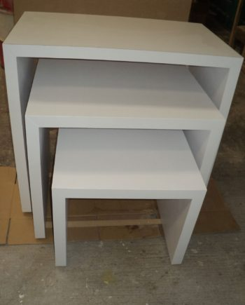 retail display tables set