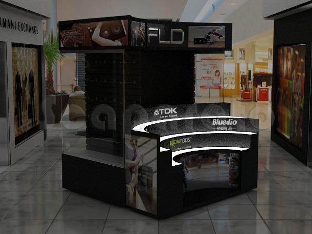 electronics retail kiosks