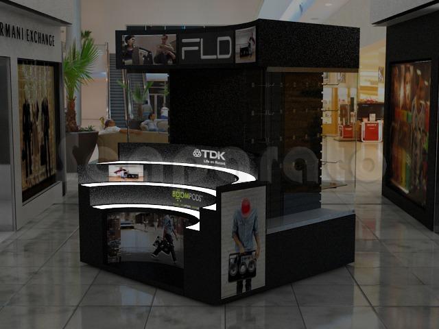technology kiosk