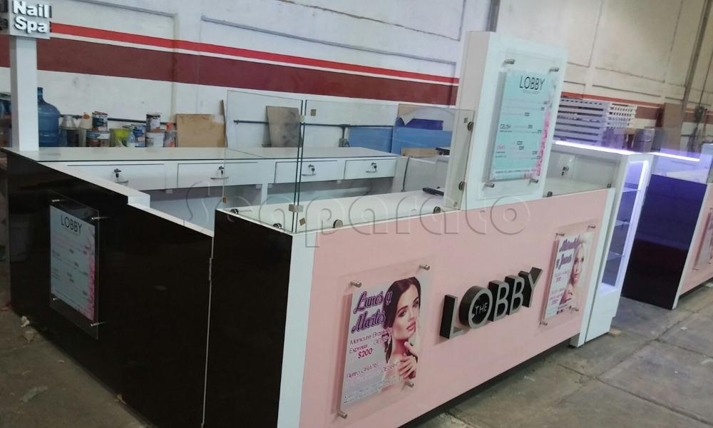 manicure retail kiosks
