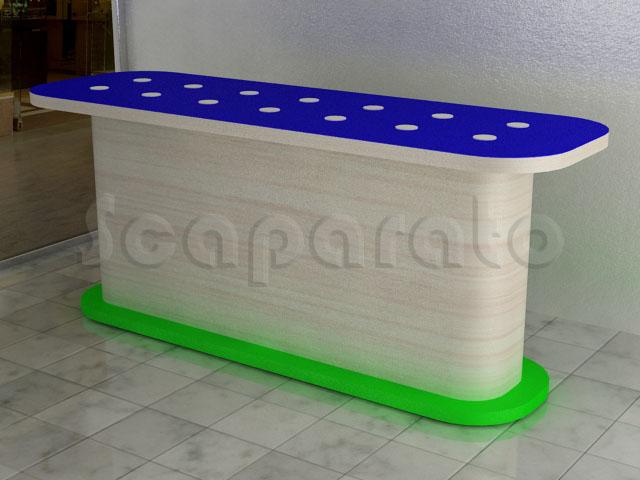 mesa para exhibir