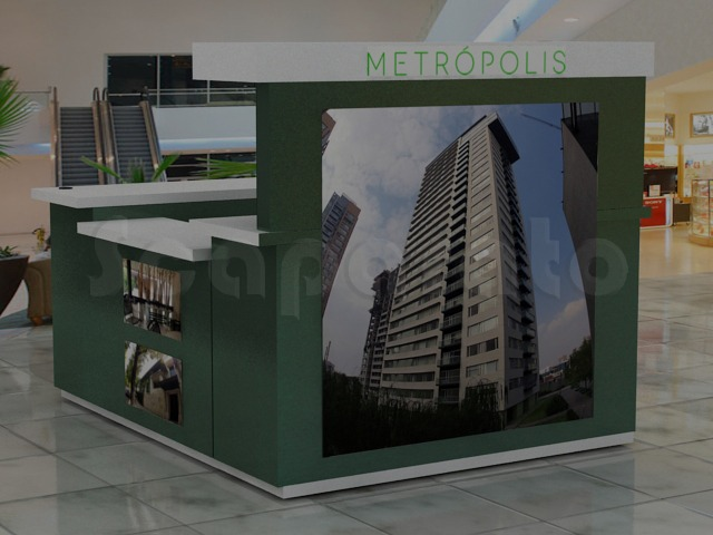 metropoli sales booth
