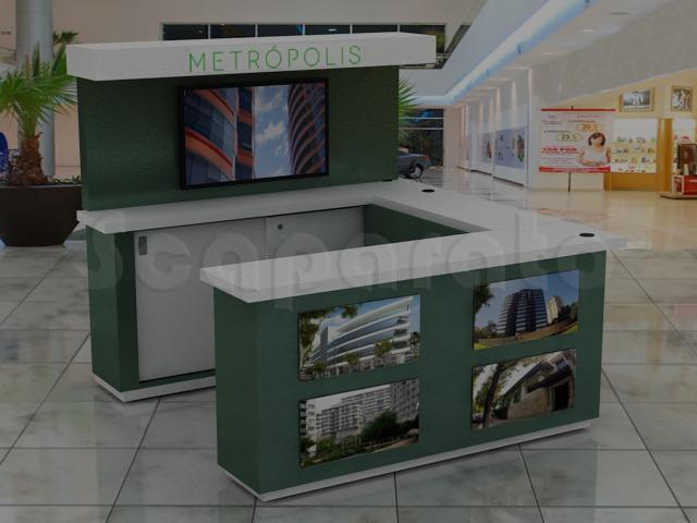 information sales kiosk