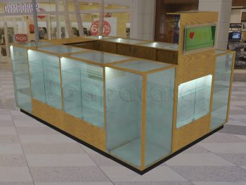 kiosko comercial para electrónicos