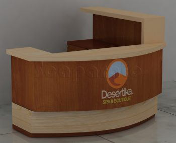 corporate reception counter