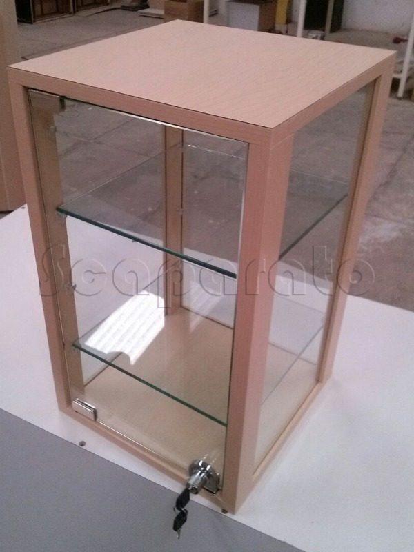 table display showcase 4 views