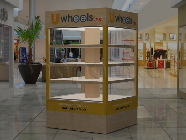 commercial retail kiosk