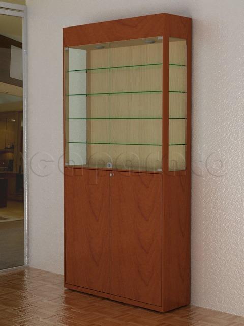 vitrina alta de pared