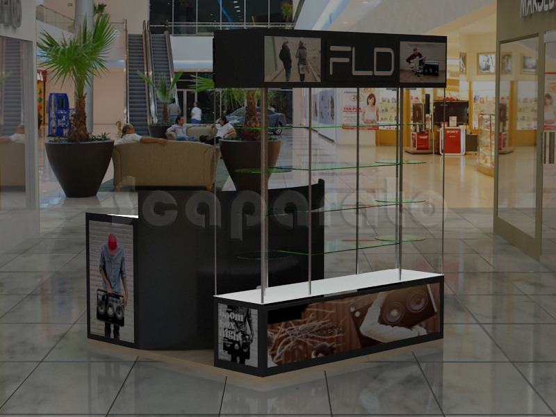 technologic retail kiosk