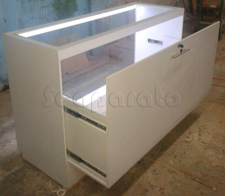 stepped counter showcase