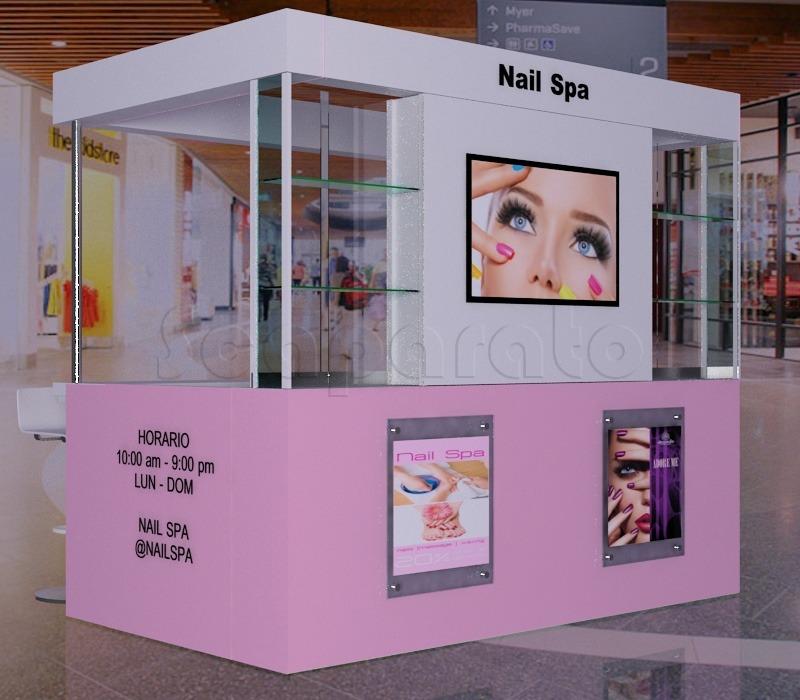 manicure retail kiosk
