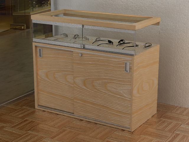 counter display cabinets