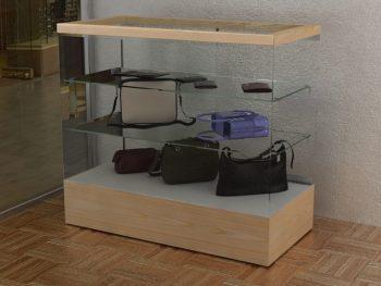 counter showcase