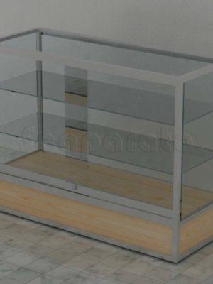 Aluminum display cases