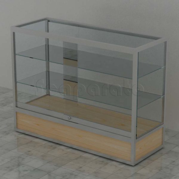 Aluminum display cases
