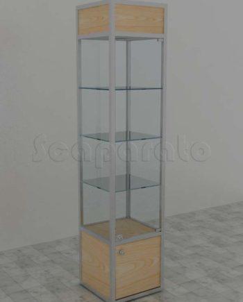 Aluminum tower cases