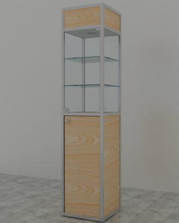 Vitrinas de torre de aluminio